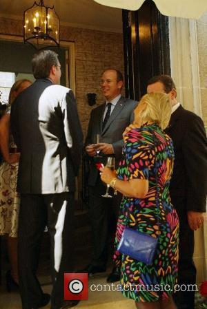Ellen Noghes, Prince Albert of Monaco and guests The Embassy of Monaco welcomed Prince Albert of Monaco to their new...