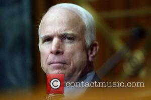 US Presidential candidate Senator John McCain The Armed Services Committee held a hearing on the situation and progress in Iraq...
