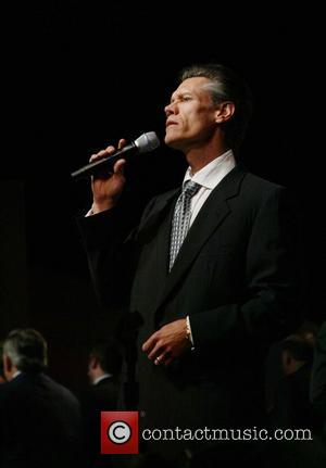 Randy Travis sings the national anthem Christians United For Israel support Israel's right to exist in the Middle East at...