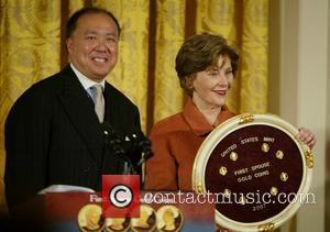 Edmund Moy, Laura Bush and White House