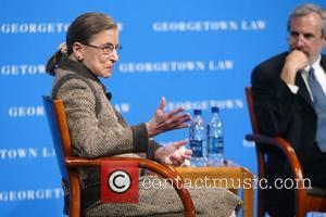 Justice Ruth Bader Ginsburg, Dean T. Alexander Aleinikoff The Supreme Court Fellows along with Georgetown Law School invited Brenda Hale,...