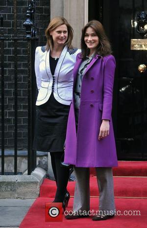 Sarah Brown, Carla Bruni and 10 Downing Street