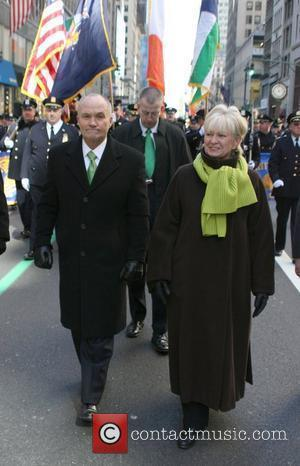 Police Commissioner Raymond Kelly and his wife 241st Annual Saint Patrick's Day Parade New York City, USA - 17.03.08