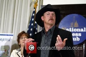 Country music star Trace Adkins  spoke at the National Press Club on protecting endangered Civil War battlefields from becoming...