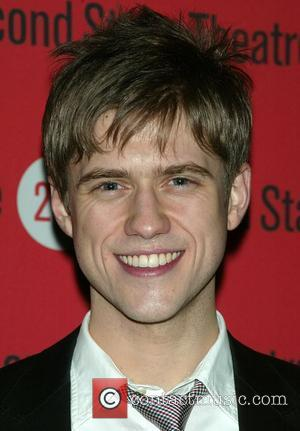 Aaron Tveit  Opening night after party for the 2econd Stage Theatre production of 'Next To Normal' at Junior's Restaurant...