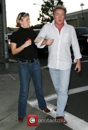 Michael Flatley and his wife Niamh Flatley out shopping in Beverly Hills Los Angeles, California - 13.11.07