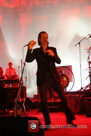 Nick Cave and The Bad Seeds Performing Their Dig Lazarus Dig World Tour At The Hammersmith Apollo