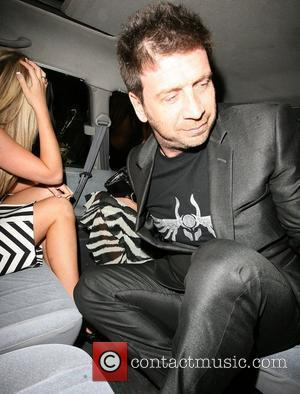 Nick Knowles looks rather embarrassed after he is caught asking two foreign ladies to spend the rest of the night...