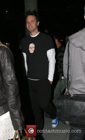 Mark Hoppus of Blink 182 Launch of new clothing line at the Nicola Bertti store in Beverly Hills Los Angeles,...