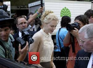 Nicole Kidman arriving at Supreme Court  Sydney, Australia - 19.11.07