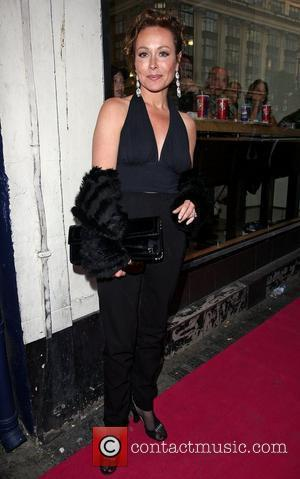Amanda Mealing A Night Of Tease - burlesque night organised by Breast Cancer Charity Pink Ribbon Foundation and In The...