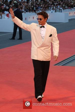Johnny Depp, Venice Film Festival