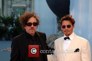 Johnny Depp, Tim Burton, Venice Film Festival