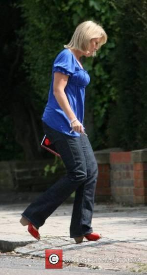 Nicky Chapman arriving at Geri Halliwell's house London, England - 01.06.07
