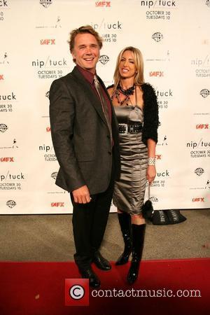 John Schneider, Elly Castle Nip/Tuck Season 5 Premiere Screening held at the Paramount Theatre Hollywood, California - 20.10.07