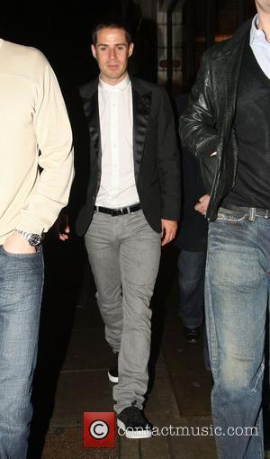 Jamie Redknapp leaving Nobu Berkley Square London, England - 08.03.08