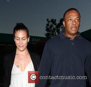Dr Dre and his wife Nichole Threatt leaving Nobu at Cross Creek Malibu, California - 17.05.08