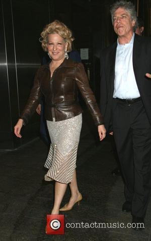 Bette Midler and Ken Sunshine