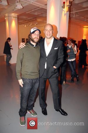 Oliver Korittke and Tommy Hilfiger