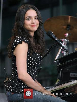 Norah Jones performs live on ABC's Good Morning America Summer Concert Series in Bryant Park New York City, USA -...