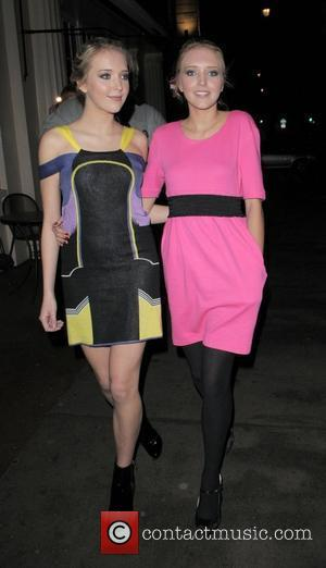 Samantha Marchant and Amanda Marchant The Perfume Shop Celebrity Nose Of The Year  held at Mint Leaf London, England...