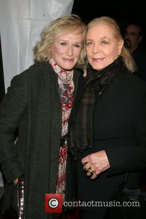 Glenn Close and Lauren Bacall