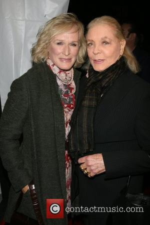 Glenn Close and Laren Bacall