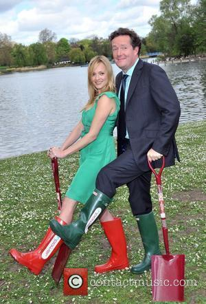 Piers Morgan and Fearne Cotton