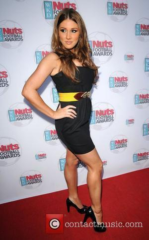Lucy Pinder WKD Nuts Football Awards held at Cafe de Paris - Arrivals  London, England - 07.05.08
