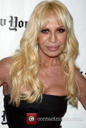 Donatella Versace New York Times Sunday With The Magazine Event at the Times Center New York City, USA -04.05.08