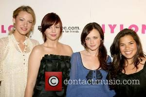 Blake Lively,Amber Tamblyn, Alexis Bledel and America Ferrera  Nylon Magazine & MySpace International Music Issue Concert at Irving Plaza...