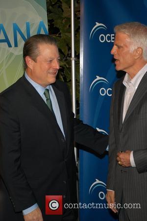 Al Gore and Ted Danson