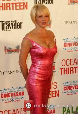 Ellen Barkin Oceans 13 Las Vegas Premiere at the Opening of CineVegas - Arrivals at the Palms Hotel Casino Las...