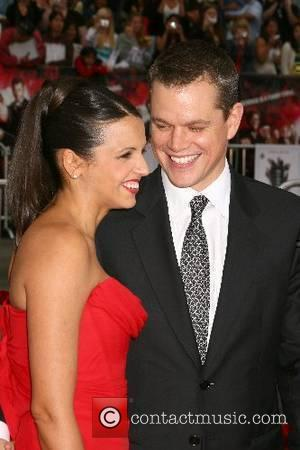 Luciana Barroso and Matt Damon Los Angeles Premiere of 'Ocean's 13' held at Grauman's Chinese Theatre - Arrivals Los Angeles,...