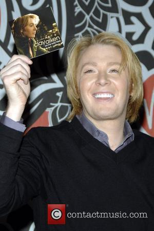 Clay Aiken makes an in store appearance and signs copies of his new CD 'On My Way Here' at Virgin...