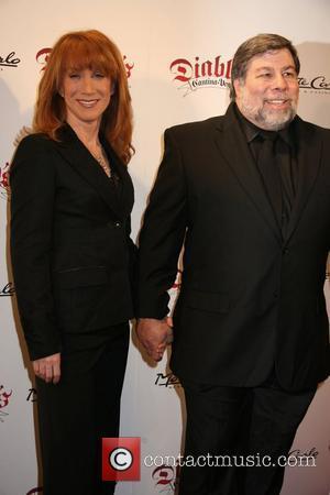 Kathy Griffin and Steve Wozniak
