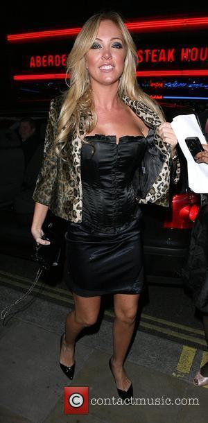 Aisleyne Horgan-Wallace arrives at the launch party for Orchid bar and lounge. London, England - 16.04.08