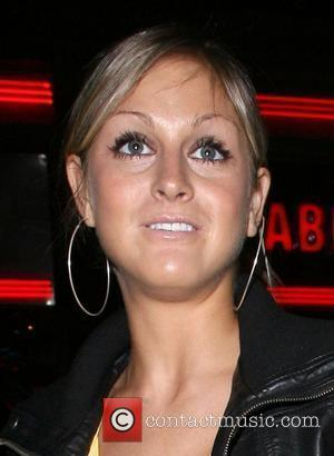 Nikki Grahame arrives at the launch party for Orchid bar and lounge. London, England - 16.04.08