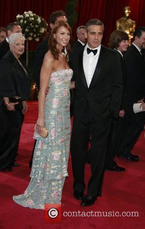 Sarah Larson and George Clooney The 80th Annual Academy Awards (Oscars) - Arrivals Los Angeles, California - 24.02.08
