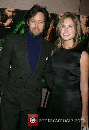 David Lauren and Lauren Bush attends a private screening of 'The Other Boylen Girl' at the Regal Cinemas - Arrivals...