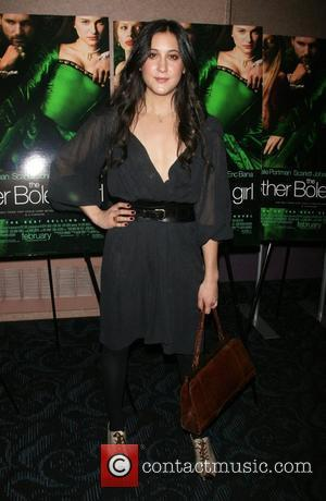 Vanessa Carlton attends a private screening of 'The Other Boylen Girl' at the Regal Cinemas - Arrivals New York City,...