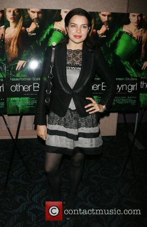 Zuleikha Robinson attends a private screening of 'The Other Boylen Girl' at the Regal Cinemas - Arrivals New York City,...