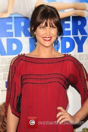 Sarah Lancaster Los Angeles film premiere of 'Over Her Dead Body' held at The ArcLight Theatre - Arrivals Hollywood, California...