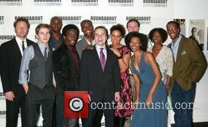 Michael Stahl-david, Owiso Odera, Chris Chalk, Charles Parnell, Playwright J.t. Rodgers, Linda Powell, Boris Mcgiver, Tisola Logan, Sharon Washington and Ron Cephas Jones