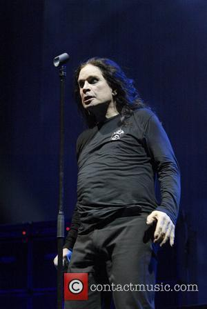 Ozzy Osbourne, his band performing live in concert at Acer Arena and Acer Arena