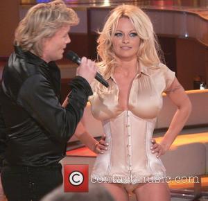 Hans Klok and Pamela Anderson
