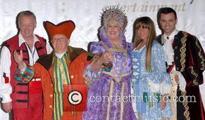 Les Dennis, Jan Rooney, Michelle Heaton, Mickey Rooney and Rooney