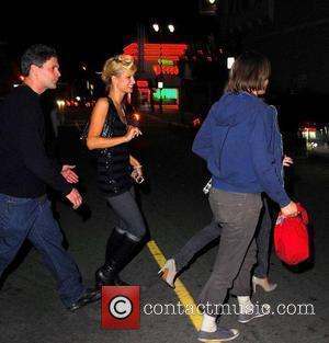 Paris Hilton, Daniela Sea and Nicky Hilton