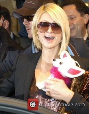 Paris Hilton leaving Hilton Berlin hotel to hold a press conference Berlin, Germany - 12.12.07
