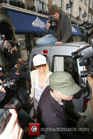 Paris Hilton, Benji Madden and Good Charlotte